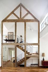 smart home design in the berkshires wooden staircases
