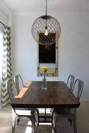 dining room awesome crown orb chandelier with dark wood dining