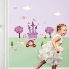 princess wall stickers u2013 peel u0026 stick decals for princess wall decor