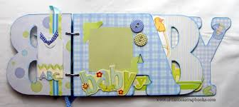 baby boy scrapbook album creative keepsakes custom scrapbooks chipboard albums