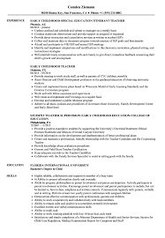 resume format for computer teachers doctrine early childhood teacher resume sles velvet jobs