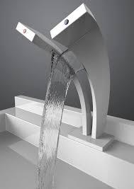 Modern Bathroom Taps Pavati Dual Waterfall Faucet Faucet Waterfall Faucet And