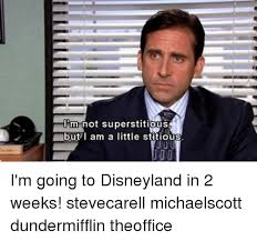 Disneyland Memes - m not superstitious but i am a little stitious i m going to