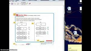 go math 4 8 partial quotients youtube