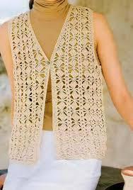 crochet sweater vest crochet and knit