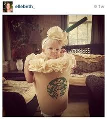 Starbucks Halloween Costume Kids Spam Musubi Costume Starbucks Baby Abby U0027s