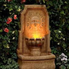 Outdoor Water Fountains With Lights Creative Of Indoor Outdoor Water Fountains Water Fountain Ideas