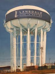 new color scheme chosen for 2m npwa lansdale water tower paint