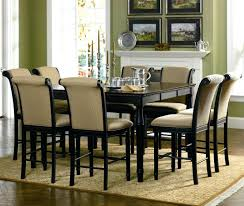 counter height table sets with 8 chairs 9 pc dining room set 8 chair table throughout with chairs square