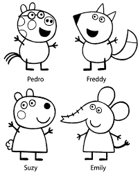 peppa colouring 22 print color free