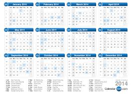 2014 calendar monthly printable calendar