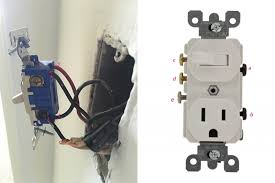 how to replace a light switch with a dimmer replace a wall light switch with a switch outlet combo electrical