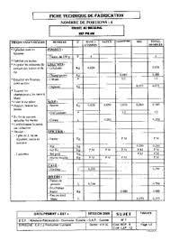 la fiche technique en cuisine fiche technique cuisine pdf maison design edfos com