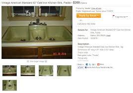 Fiesta Kitchen Sink By American Standard Introduced In  Or - American standard cast iron kitchen sinks