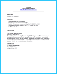 Teller Resume Examples by Resume Examples For Bank Teller Free Resume Example And Writing