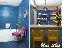 perfect blue kitchen tiles subway tile l inside decorating