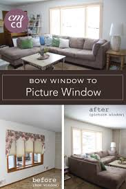 bow window to picture window update
