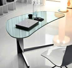 black contemporary stylish computer desk workstation with sturdy