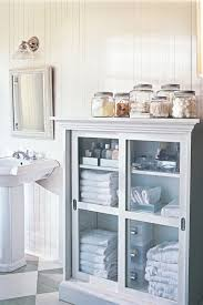 Bathroom Pedestal Sink Storage Cabinet by 17 Bathroom Organization Ideas Best Bathroom Organizers To Try