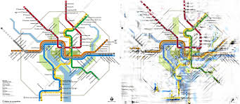 Washington Dc City Map by Can Science Untangle Our Transit Maps Science Friday