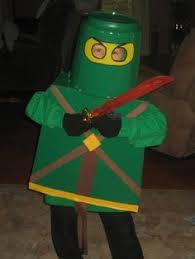 Lego Ninjago Halloween Costumes Coolest Homemade Green Ninjago Halloween Costume Boy