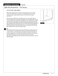 kitchen cabinet rollout shelves how to install the home depot