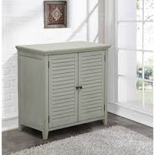 pulaski furniture louvered gray storage cabinet ds a042 857 the