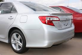 toyota camry spoiler toyota camry lip spoiler 2012 2014 factory style