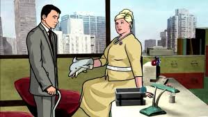 archer cartoon archer pam u0027s dolphin youtube