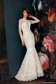 turmec long sleeve mermaid wedding dresses 2014
