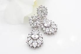 vintage wedding earrings chandeliers wedding earrings chandelier bridal earrings vintage wedding