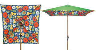Patio Umbrella Target Target Clearance Marimekko Patio Umbrella Possibly Only 49 98