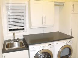 Laundry Room Clothes Rod Articles With Small Laundry Sink Cabinet Tag Small Laundry Trough