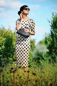 vintage inspiration taffeta polka dot dress zunera u0026 serena