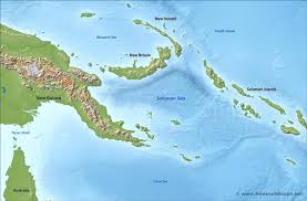 Solomon Islands Map Solomon Sea Map By Freeworldmaps Net