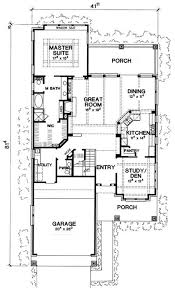 narrow house plans for narrow lots fascinating house floor plans for narrow lots contemporary best