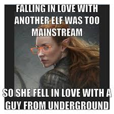 Hobbit Meme - tauriel meme hipster lotr meme hobbit meme boom middle earth