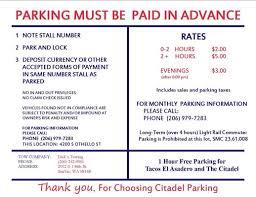 Seattle Light Rail Hours Citadel Parking Parking 4200 S Othello St Brighton Seattle