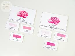 Brighter Pink The Ton Couture Color Ink Review Making Cards Is Fun