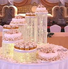wedding cake online 7 tier wedding cake structure with cup cakes lankaeshop