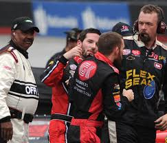 Red Flag Nascar Xfinity Drivers Ross Chastain Jeremy Clements Involved In