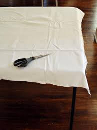 how big is a card table how to sew a card table slipcover hgtv
