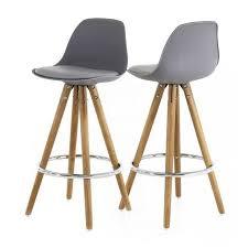 chaise haute de cuisine design cool chaise de cuisine haute tripod salon design hauteur plan