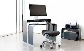 bureau pour ordinateur bureau verre lepolyglotte
