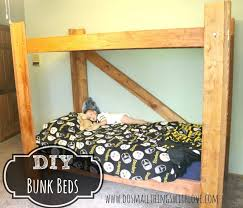 Bunk Bed Building Plans Twin Over Full by Bunk Beds Diy Loft Bed Plans Twin Over Full Bunk Bed Plans With