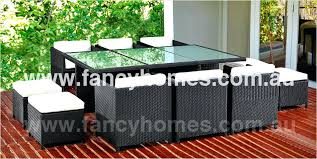 space saving patio furniture outdoor rattan bar set space saving all