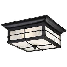 Dusk To Dawn Outdoor Ceiling Light by Amazon Com Westinghouse 6204800 Orwell 2 Light Outdoor Flush