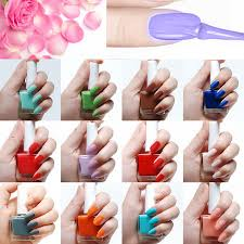 frosted matte nail polish women sweet love color long lasting