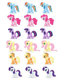 free printable party goods dani u0027s 8th birthday my little pony