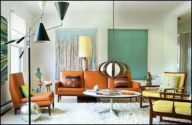 50s modern home design withal retro style decorating ideas mid